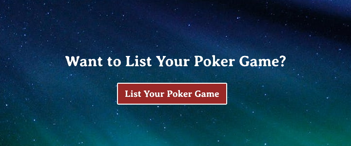 List Your Poker Game